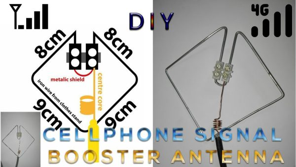 DIY cellphone signal booster