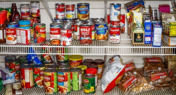 stockpiling emergency rations including canned goods and more